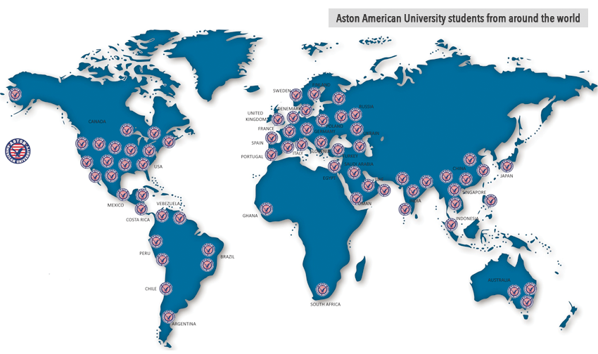 map of students AAUN